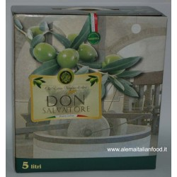 Olio Don Salvatore 5l in Bag in Box Extravergine di Oliva di Peranzana